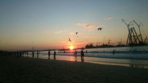 dubai plaza zalazak sunca