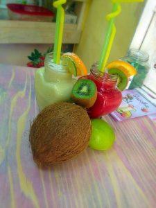smoothie kivi kokos