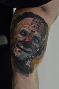 tetovaza klovn