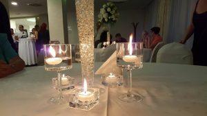 svece dekoracija