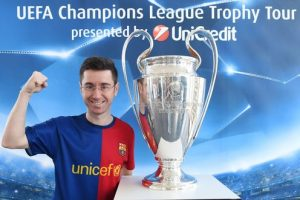 UEFA Champions League Trophy Tour 2016 presented by UniCredit, Iasi, Romania: --- private event at Ubis ---,  *** Local Caption *** +++ www.PortablePast.com +++ Copyright: PortablePast / Malte Christians +++