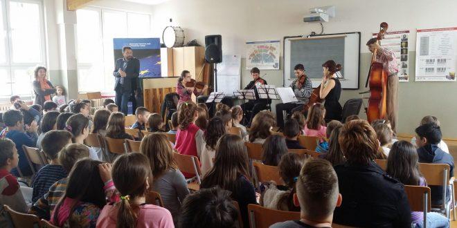 ,,Constantinus u školama'' počinje koncertom u OŠ ,,Učitelj Tasa''