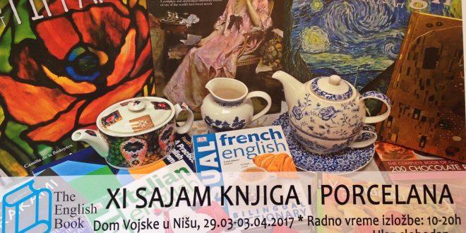 11. Sajam engleskih knjiga i porcelana u Nišu