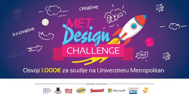 """Takmičenje za srednjoškolce """"MET Design Challenge"""""""