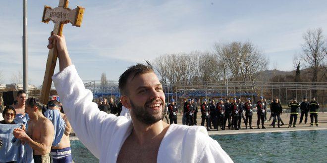 Nikola Đorđević-Vitez Bogojavljanskog plivanja