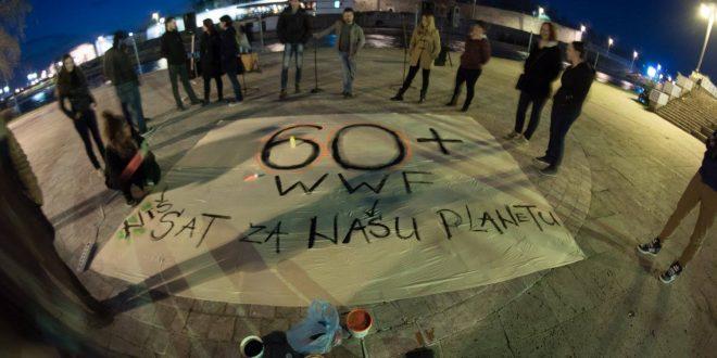 """Globalna akcija """"Sat za našu planetu"""" u Nišu"""