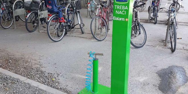 Balans+ samouslužne stanice za bicikle uskoro širom Srbije