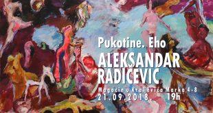 Prva samostalna izložba akademskog slikara Aleksandra Radičevića u Beogradu