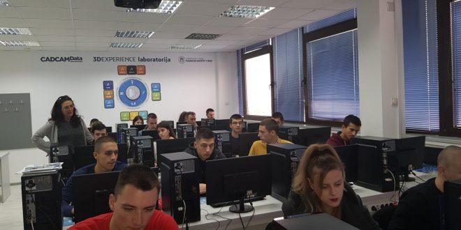 Mašinski fakultet Niš – Otvorena prva virtuelna laboratorija