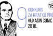 """Nagrađene tri kratke priče na konkursu """"Vukašin Conić"""""""