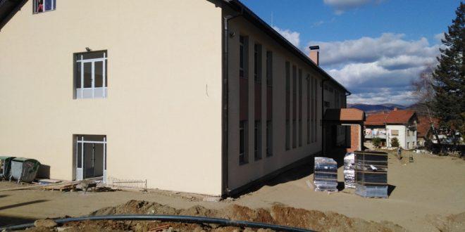 Kompletno uređenje dvorišta OŠ Siniša Janić