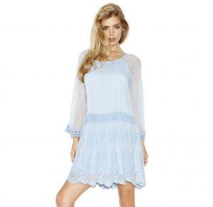 guess plava haljina
