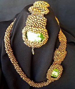 vizantijski nakit zeleni kamen