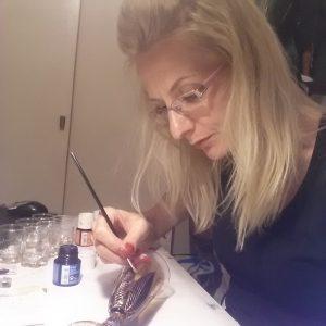 oslikavanje stakla aleksandra kostic kragujevac