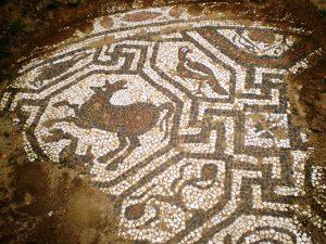 caricin grad mozaik