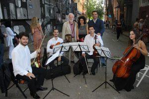 modna revija kvartet omladinske filharmonije