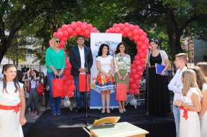 Svečanost povodom rekonstrukcije škole Učitelj Tasa u Nišu