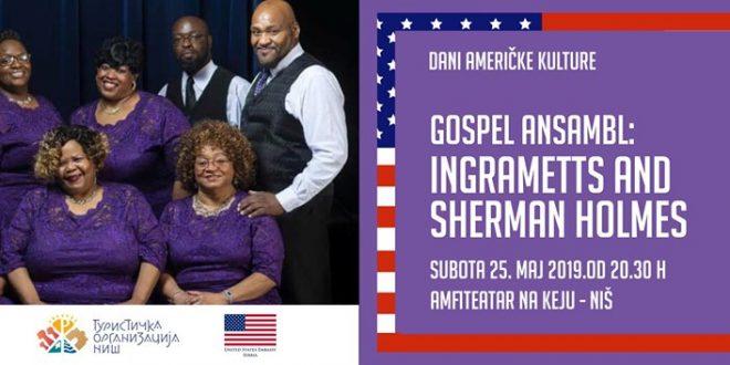 Legende američkog gospela u Nišu!