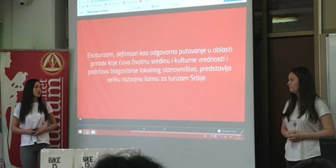 Leskovačka Trgovinsko-ugostiteljska škola poručuje – BIKE IS LIKE