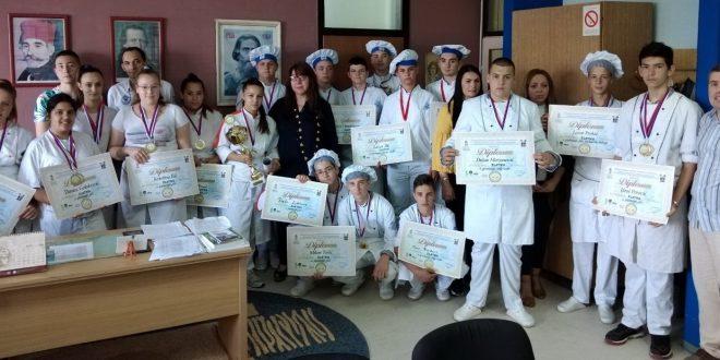 Naslednici leskovačke škole gastronomije najbolji na 6. Međunarodnom gastro festivalu