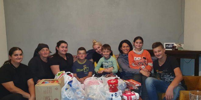 Vlasotinčanke pomažu višečlanoj porodici iz Jakovljeva