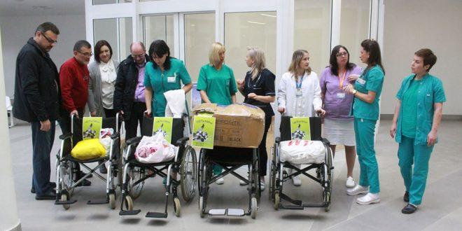 Humane Nišlije obezbedila posteljine i kolica za niške klinike
