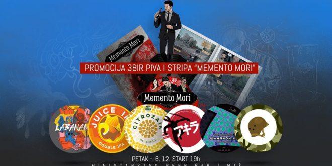 Vikend u znaku kraft piva i prvog broja krimi stripa Memento Mori