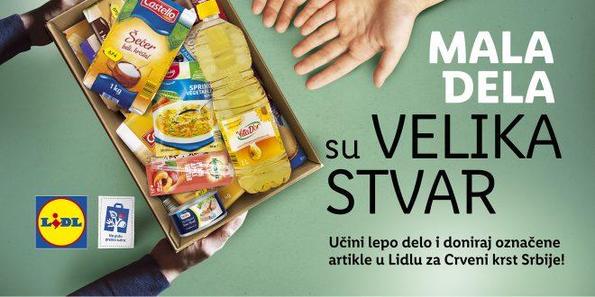 """""""Mala dela su velika stvar"""" – akcija prikupljanja namirnica za najugroženije"""