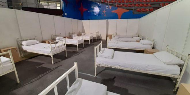 """19 pacijenata u  privremenoj bolnici u niškoj hali """"Čair"""""""