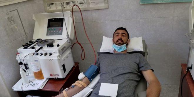Vlasotinčanin Milan Ristić prvi donor krvne plazme iz ovog grada
