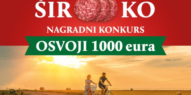 """""""Široooko"""" muzički nagradni konkurs – Prijavi se i osvoji 1000 eura!"""
