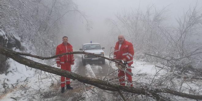 Transport pacijenta uspešan uprkos vremenskim nepogodama