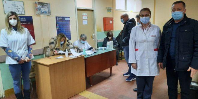 U Vlasotincu počela vakcinacija građana