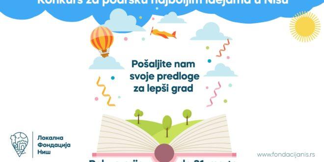 Otvoren konkurs LFN za podršku najboljim idejama građana