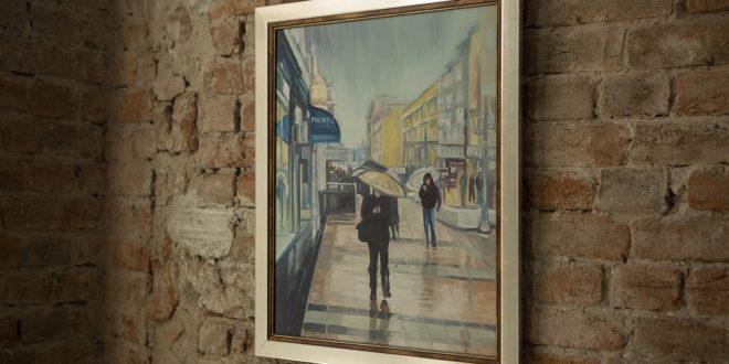Licitacija slike Slavoljuba Todorovića Zorkina