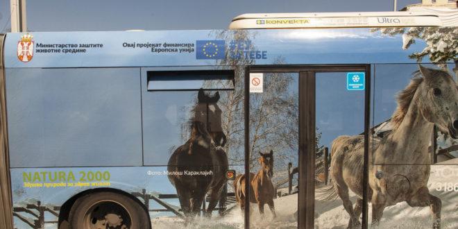 Zdrava priroda za zdrav život – nova poruka na autobusima u Srbiji