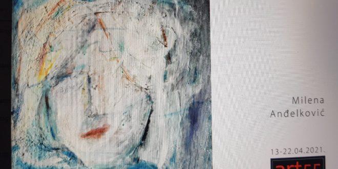 Izložba unikatno oslikanog tekstila Milene Anđelković u galeriji Art 55