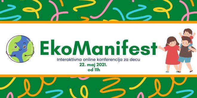 Ekološka edukacija kroz zabavu i igru na EkoManifestu